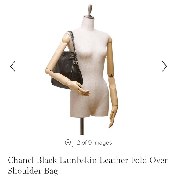 CHANEL Handbags - 💕CHANEL LAMBSKIN HOBO BAG💕